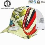 Chapeau de camionneur de base-ball de Microfiber de mode de qualité avec le logo estampé