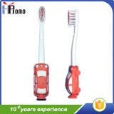 Escova de dentes para crianças com alça de carro