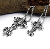 Gótico entrelaçar o aço do titânio dos acessórios de forma do pendente da colar