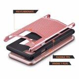 iPhone 7plus аргументы за защитника розового Anti-Slip противоударного панцыря защитное