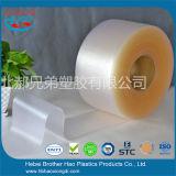 미끄럼 방지 매트에 의하여 서리로 덥는 유연한 PVC 비닐 커튼 지구 문