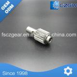 Caja de cambios de hardware de acero de mecanizado CNC de piezas de repuesto del engranaje de transmisión