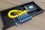 Multiplexeur 8+1CH optique Mux+ Demux CWDM de FTTH