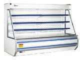 Refrigerador e congelador verticais para o varejo e o indicador