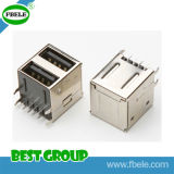 Conetor elétrico do conetor masculino F do USB do conetor do USB Fbusba2-116 (FBELE)