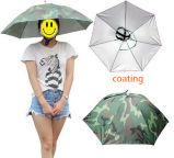 Guarda-chuva principal do chapéu de Sun da chuva do anti chapéu UV pequeno da dobra dos peixes mini