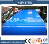 Bobina de acero galvanizado prepintada de color azul