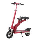 ポータブルLEDライトが付いている8インチの小型電気折る自転車