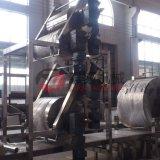 Barras automáticas cheias do cereal que processam a maquinaria