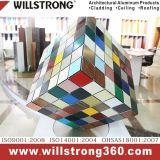 Painel composto de alumínio para o material de construção do revestimento