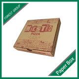 Caixa de papel do alimento feito sob encomenda para o empacotamento da pizza