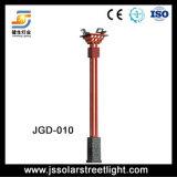 iluminação elevada do mastro do diodo emissor de luz de 6m com a lâmpada de inundação do diodo emissor de luz de 4PCS 40W para a terra do futebol