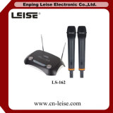 Double ch microphone de radio de VHF de karaoke de Ls-162
