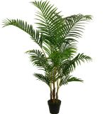 Palma Potted artificial da areca dos bonsais da planta