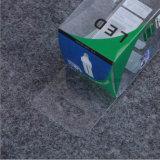 고급 PVC 플라스틱 플라스틱 상자가 UV 인쇄 LED에 의하여 점화한다