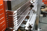 Equipo automático del moldeo por insuflación de aire comprimido de la botella del animal doméstico de la bebida