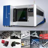 Taglierina del laser della fibra del piatto del acciaio al carbonio dell'acciaio inossidabile del macchinario di precisione