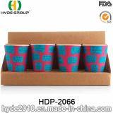 Kundenspezifisches Entwurfs-biodegradierbares Bambusfaser-Cup (HDP-2066)