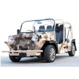 Автомобиль электрической туристской кареты камуфлирования пустыни Sightseeing с пробегом выносливости 150km