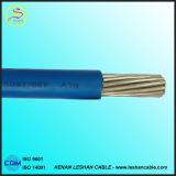fio IEC01 1.5 contínuo fireresistant de cobre da isolação 60227 do PVC do núcleo 450/750V 2.5 4 6mm2