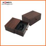 Papel cinzento de madeira com o MDF de madeira para a caixa Perfumebox de Oud