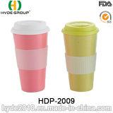 FASER-Kaffeetasse der verschiedenen Farben-2016 biodegradierbare Bambus(HDP-2009)