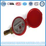 Einzelnes Strahl Trocken-Vorwahlknopf Wasser-Messinstrument-horizontales rotorartiges