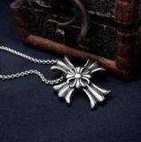 Acero inoxidable pendiente de la joyería 316L de la manera del collar cruzado gótico retro