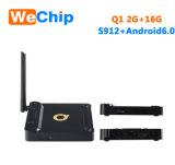 Casella del Internet TV del Android 6.0 2+16g Ott di Q1 S912