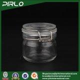 200g de duidelijke Kosmetische Kruik van het Glas voor GezichtsMasker met de Rubber Verzegelende Container van de Make-up van het Glas van het Deksel Lege