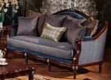 Sofà classico del tessuto per mobilia vivente