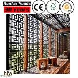 Diviseur de pièce en bois de qualité de substance gluante pour l'entrée de salon ou d'hôtel