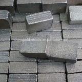 Segment van de Steen van het Graniet van de diamant het Scherpe voor het Blad van de Zaag van 2500mm