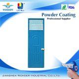 純粋なエポキシのタイプ青い光沢のある鋼鉄機密保護のドアの粉のコーティング