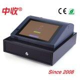 Caja registradora del supermercado de 10 pulgadas/máquina electrónica de la caja registradora