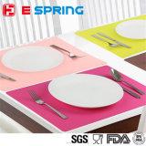 Soem-Drucken-Firmenzeichen-bunte kleine Kind-Abendessen-Silikon-Tisch-Matte