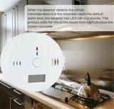 Alarme do detetor de gás de monóxido de carbono da segurança do agregado familiar de Digitas