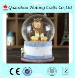 Оптовый дешевый подарок глобуса снежка дня Valentine смолаы