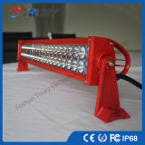Luz campo a través doble de la fila LED de la luz 120W de la barra del coche LED IP68