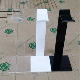 Acrylkopfhörer-Kopfhörer-Schreibtisch-Bildschirmanzeige-Zahnstange