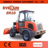 Kleine Miniladevorrichtung der Everun Bauernhof-Maschinerie-Zl10 mit Überrollschutzvorrichtung-Cer