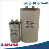 Condensador metalizado del acondicionador de aire Cbb65 de la película del polipropileno