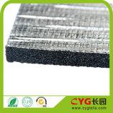 Gomma piuma di appoggio dell'isolamento termico di alluminio ed adesivo del per l'isolamento della costruzione