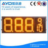 Hidly el panel sensible del precio de la gasolina del amarillo LED de 12 pulgadas