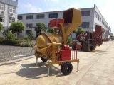 Портативный конкретный смеситель с электрическим/бензиновым двигателем