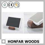 검은 호두나무 창조적인 Soild 목제 전화 또는 테이블 PC 홀더