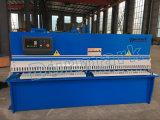 Machine de tonte de bobine en acier de l'acier inoxydable QC12y-12*4000