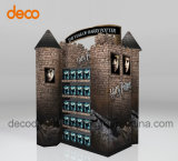 Gewölbter Knall-Bildschirmanzeige-Regal Cardbaord Ausstellungsstand für Förderung