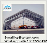 ODM/OEMのアルミニウム飛行機の格納庫の雪の抵抗力があるテントの工場価格