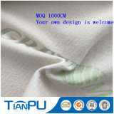 Tessuto Mint verde del jacquard del Knit della fibra dell'OEM
